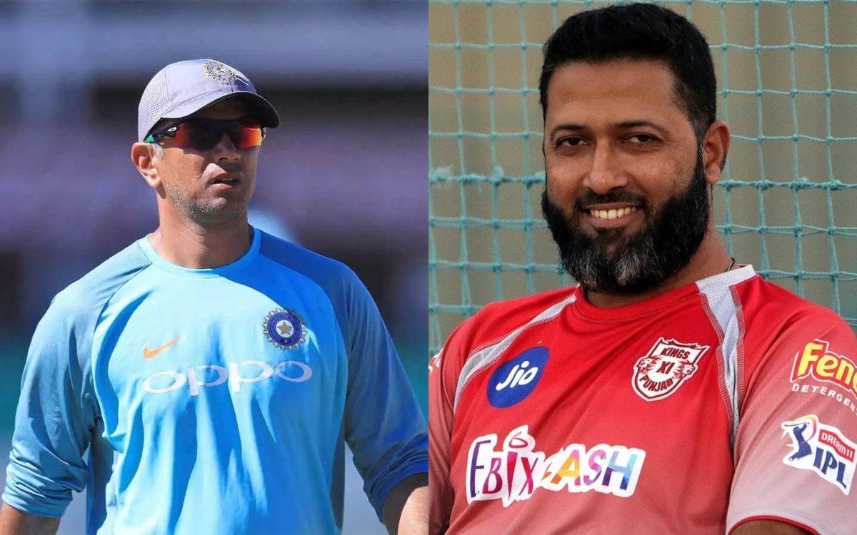 Cricket Image for VIDEO : 'राहुल द्रविड़ को नहीं बनना चाहिए टीम इंडिया का कोच', वसीम ज़ाफर ने दिया ह