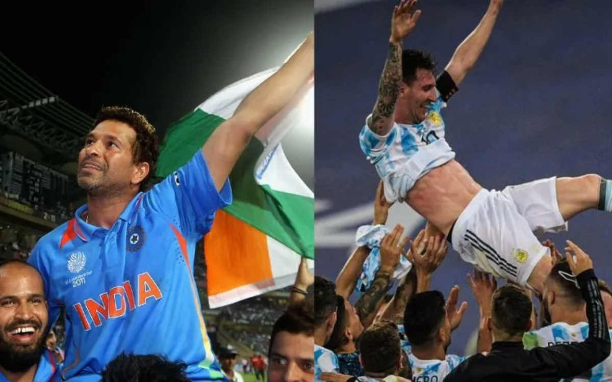 Cricket Image for 'जर्सी नंबर 10 और 28 साल का इंतज़ार', लेकिन आखिरकार दोनों खिलाड़ियों का सपना हो गय