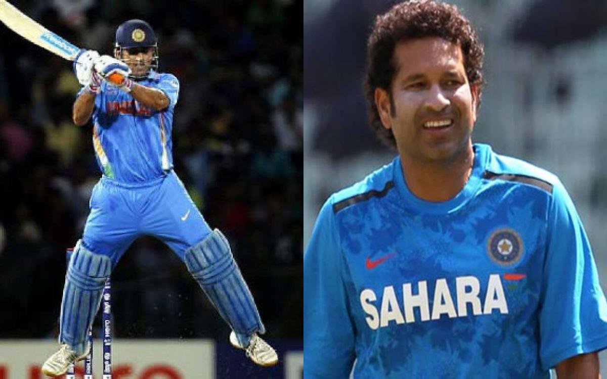 Cricket Image for धोनी ने नहीं सचिन ने खेला था सबसे पहला 'Helicopter Shot', देखें वायरल वीडियो