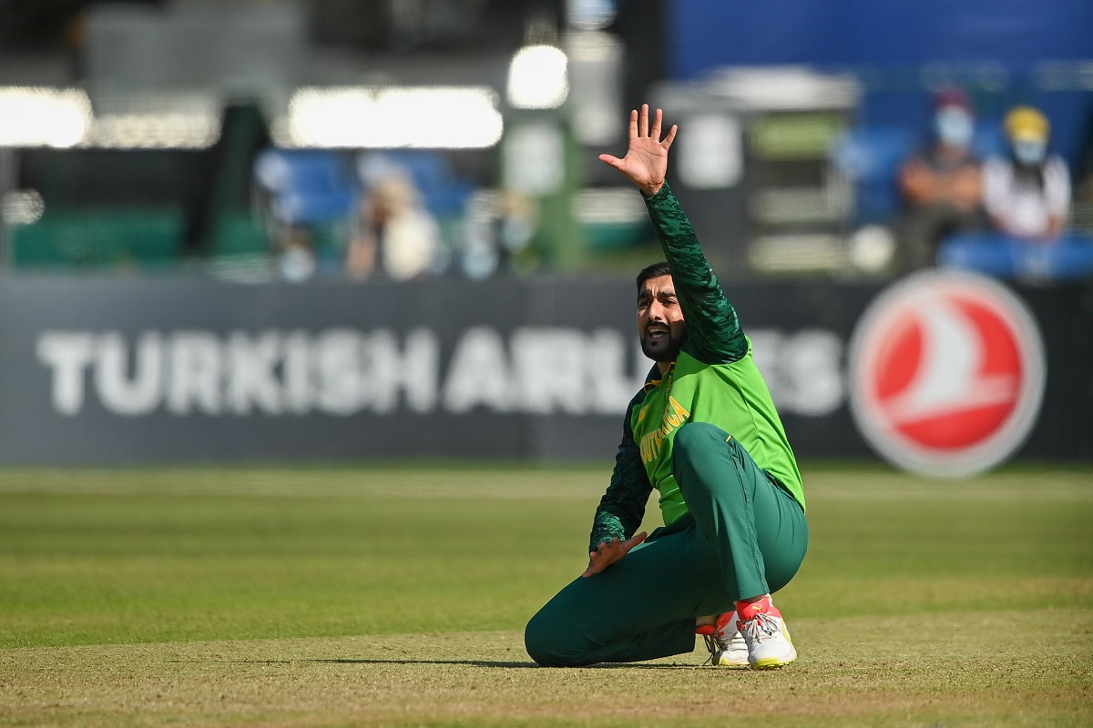 Cricket Image for Shamsi Spins South Africa To Victory Against Ireland In 1st T20