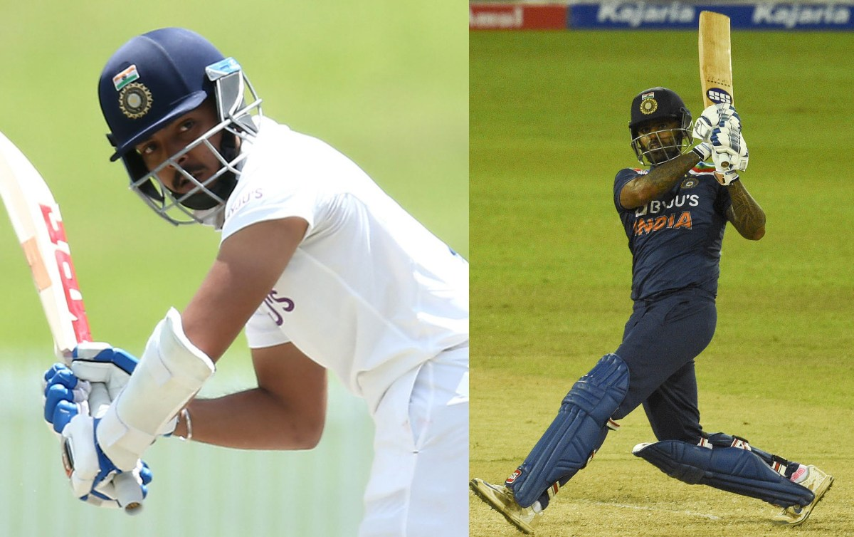 Cricket Image for Shaw, Suryakumar To Join Indian Team For England Tests