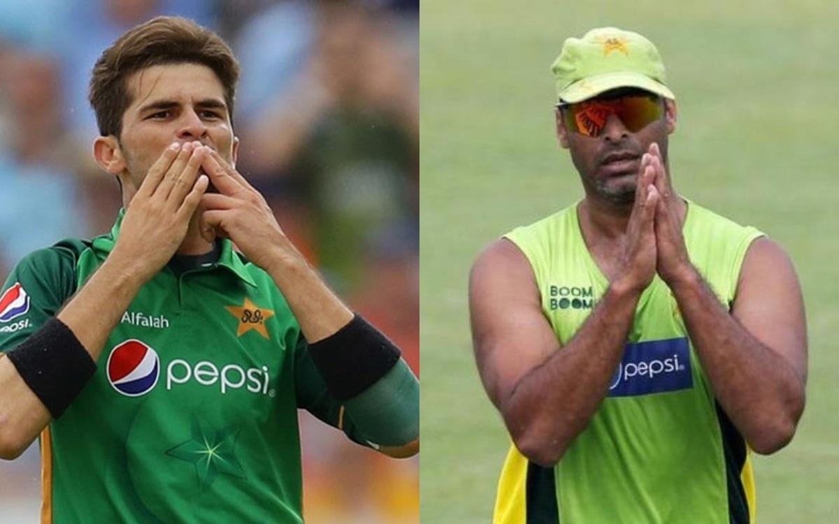Cricket Image for अफरीदी के दामाद पर भड़के शोएब अख्तर, कहा- 'विकेट से ज्यादा 'फ्लाइंग किस' पसंद करते
