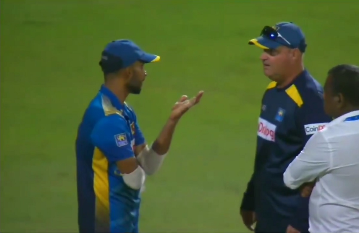 Cricket Image for Sri Lanka Coach Says Spat With Captain Was 'Good Debate'