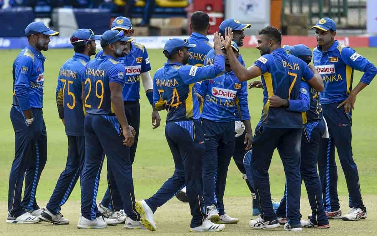 Cricket Image for SL vs IND: India Trip On Sri Lankan Spinners, Get Bowled Out For 225
