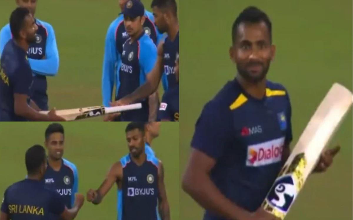 Cricket Image for  Sri Lankan Allrounder Chamika Karunaratne Becomes Fan Of Hardik Pandya