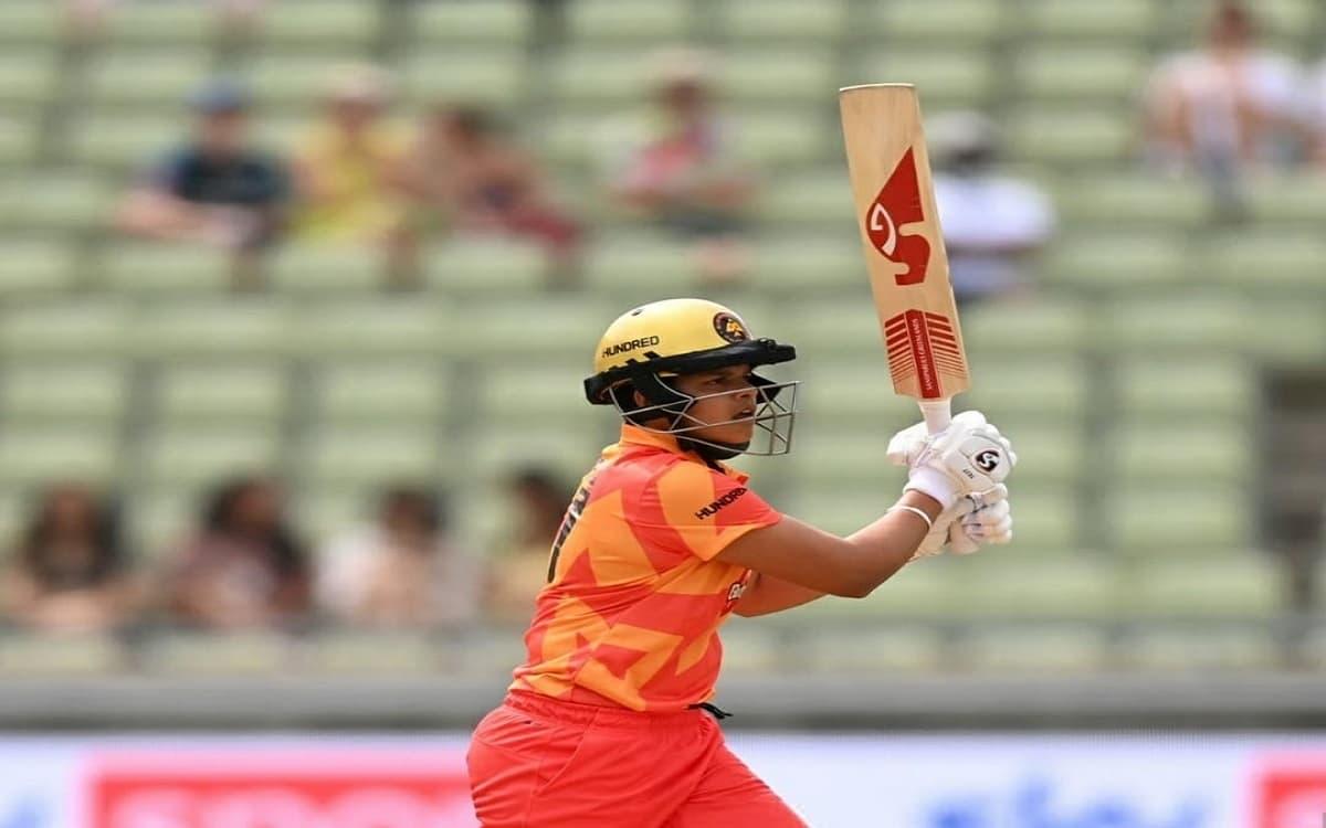 Cricket Image for The Hundred: Shafali Verma Scores 22 But Smriti Mandhana's Team Prevails