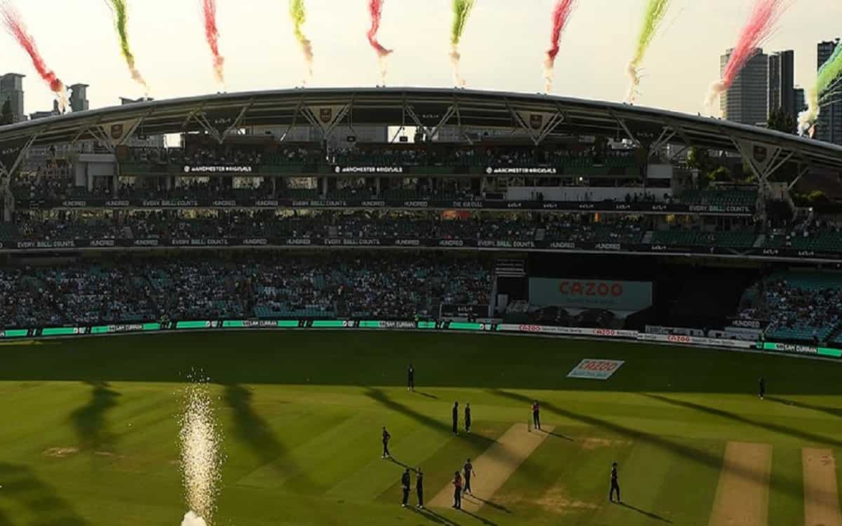 Cricket Image for The Hundred Takes England Cricket By Storm