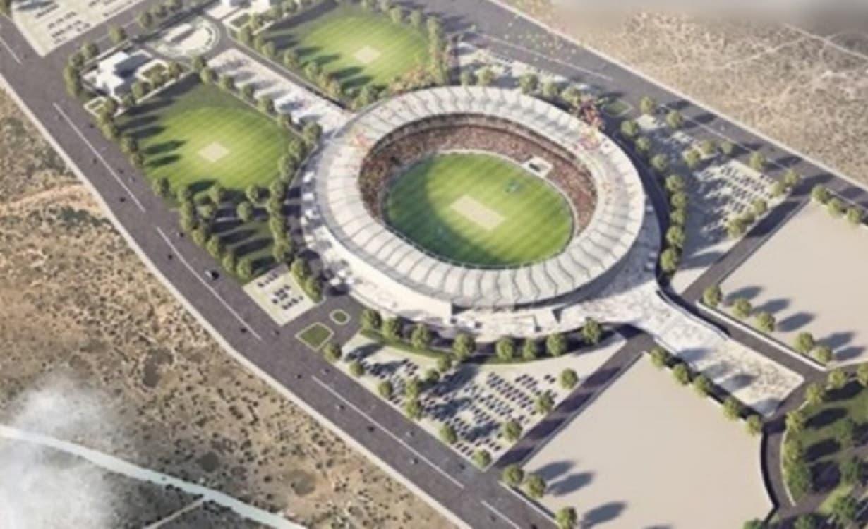 Cricket Image for जयपुर में बनेगा दुनिया का तीसरा सबसे बड़ा क्रिकेट स्टेडियम, बैठ सकेंगे 75000 दर्शक