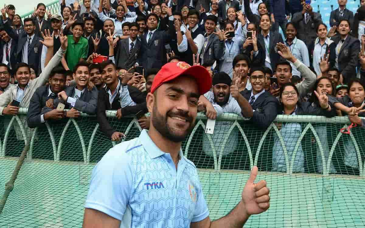 Cricket Image for The Hundred: Top Pick Rashid Khan Ready To Make His Mark