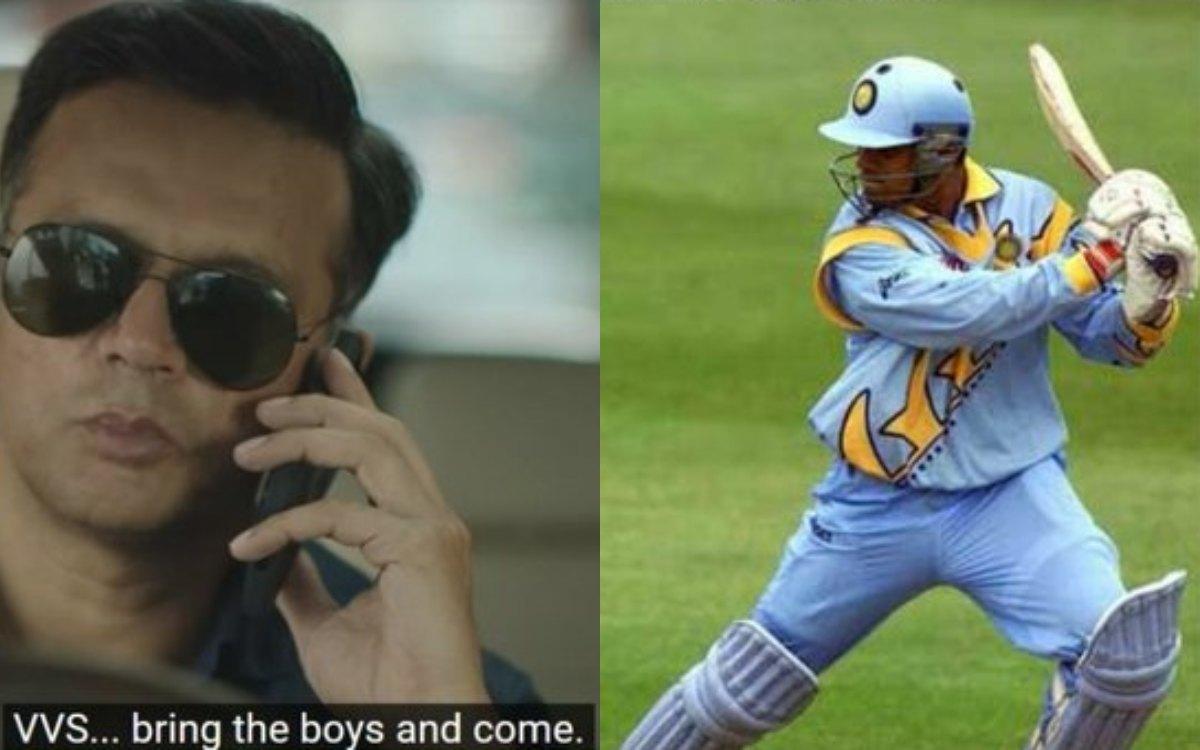 Cricket Image for क्या राहुल द्रविड़ उतरेंगे मैदान में ? वसीम जाफर के मज़ेदार मीम से फैंस हुए हैरान
