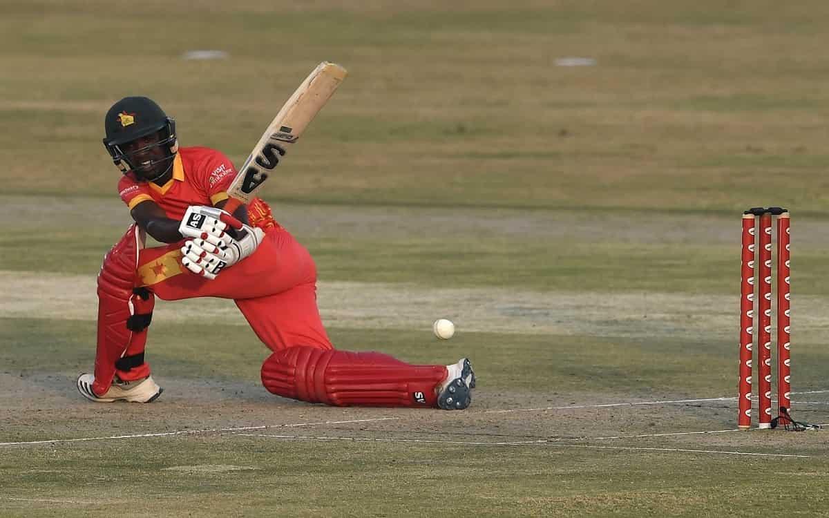 Cricket Image for ZIM vs BAN: वेसले माधिवेरे के शानदार अर्धशतक ने जिम्बाब्वे की पारी को संभाला, बांग