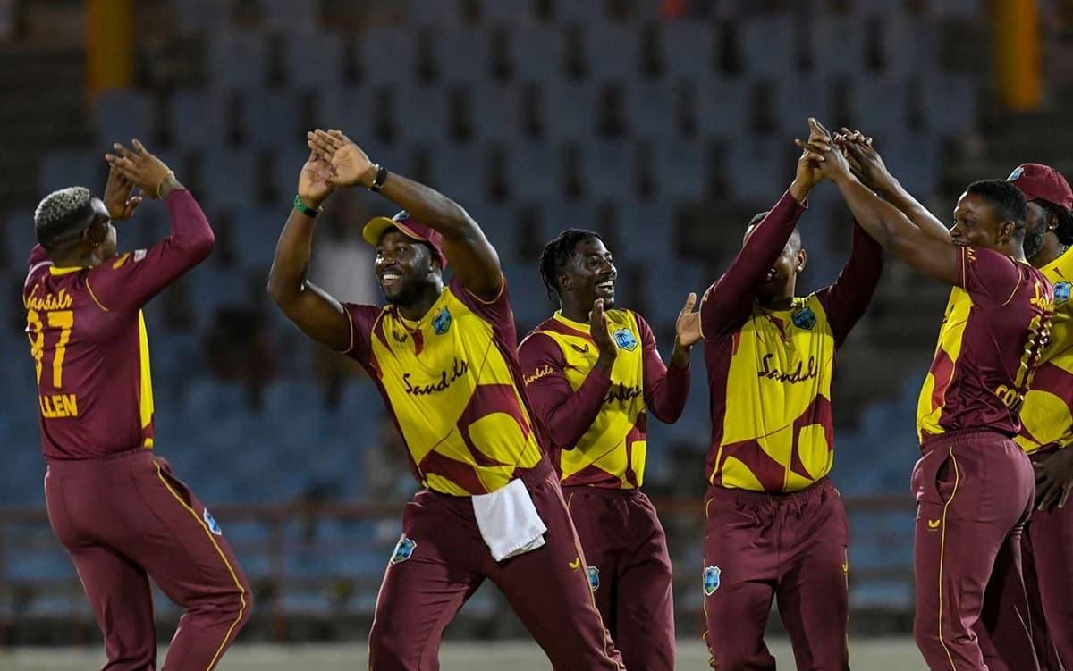 Cricket Image for WI vs AUS: वेस्टइंडीज ने तीसरे T20I में ऑस्ट्रेलिया को रौंदकर पूरी की जीत की हैट्र