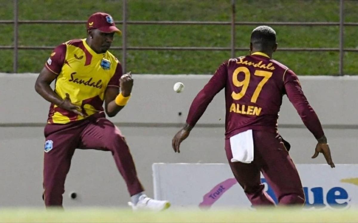 Cricket Image for VIDEO : ब्रावो- एलेन की जोड़ी ने पकड़ा चमत्कारिक कैच, सोशल मीडिया पर वायरल हो रहा