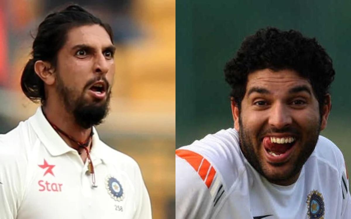 Cricket Image for 'लंबू, जी खुल के मार', सोशल मीडिया पर युवी ने लिए इशांत शर्मा के मज़े