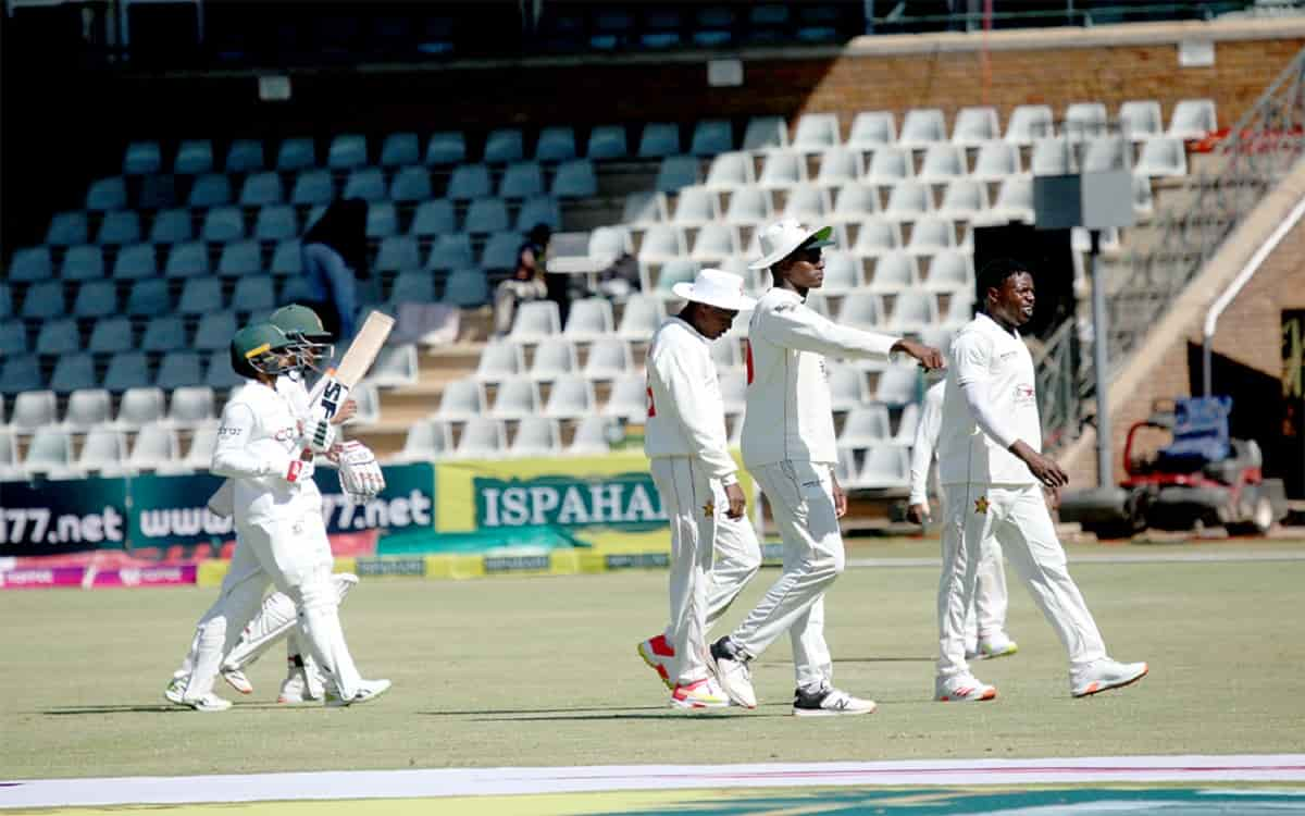 Cricket Image for Bangladesh Strong With The Century Innings Of Najmul And Shadman Zimbabwe Have To