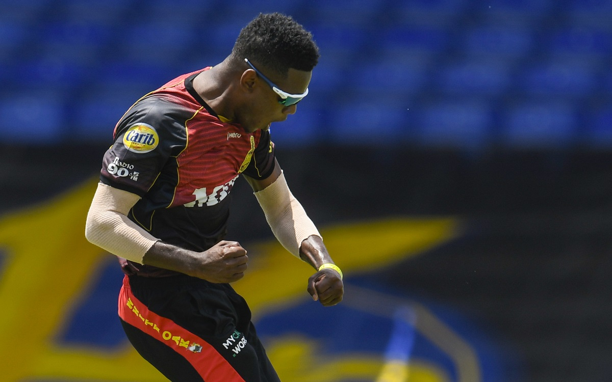 Akeal Hosein In CPL Images