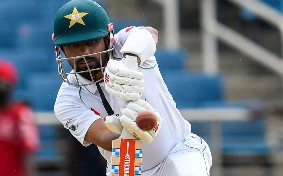 Cricket Image for 1st Test: बाबर आजम की पारी से पाकिस्तान ने की वापसी, तीसरे दिन हासिल की 124 रनों क