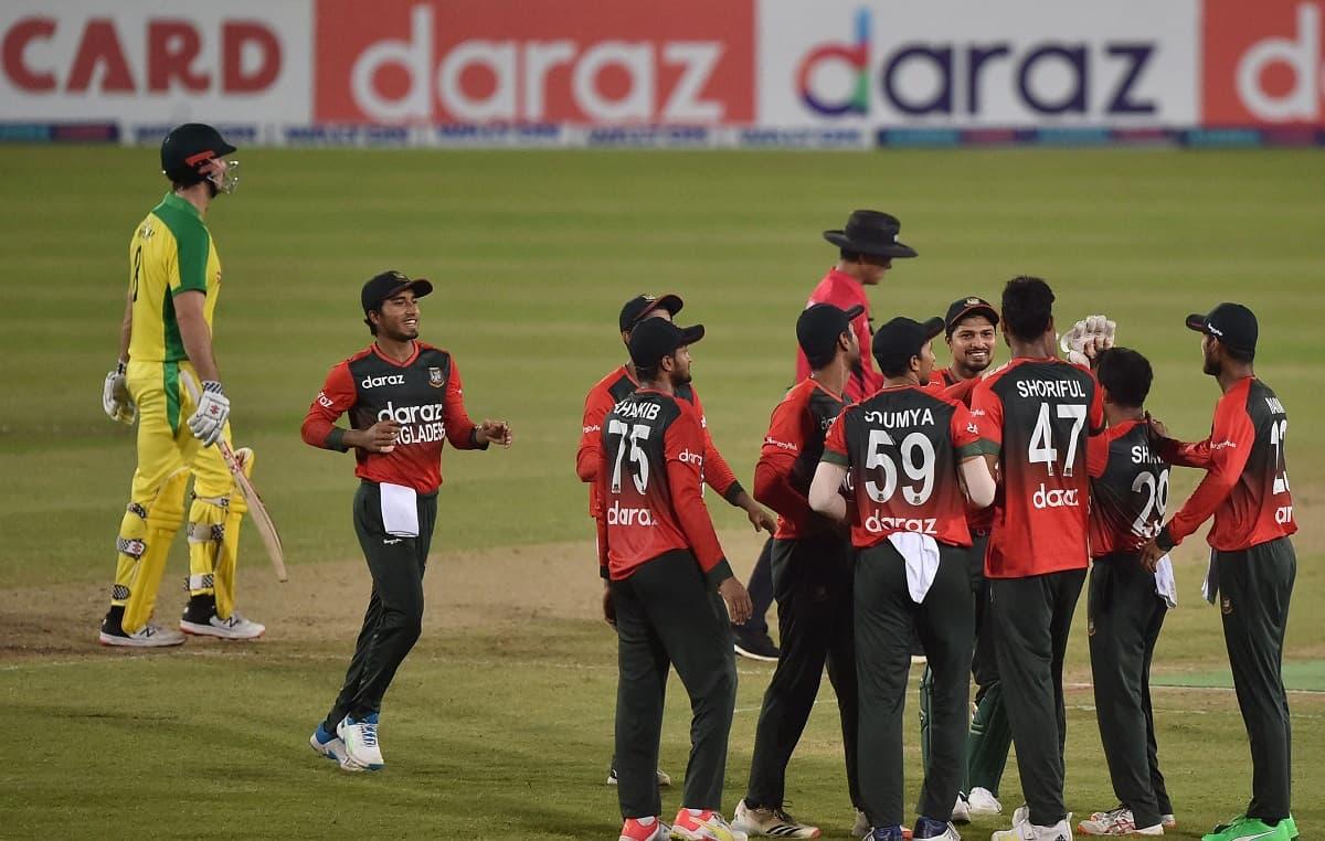 Cricket Image for BAN vs AUS: बांग्लादेश ने तीसरे T20I में ऑस्ट्रेलिया को 10 रनों से हराया, पहली बार