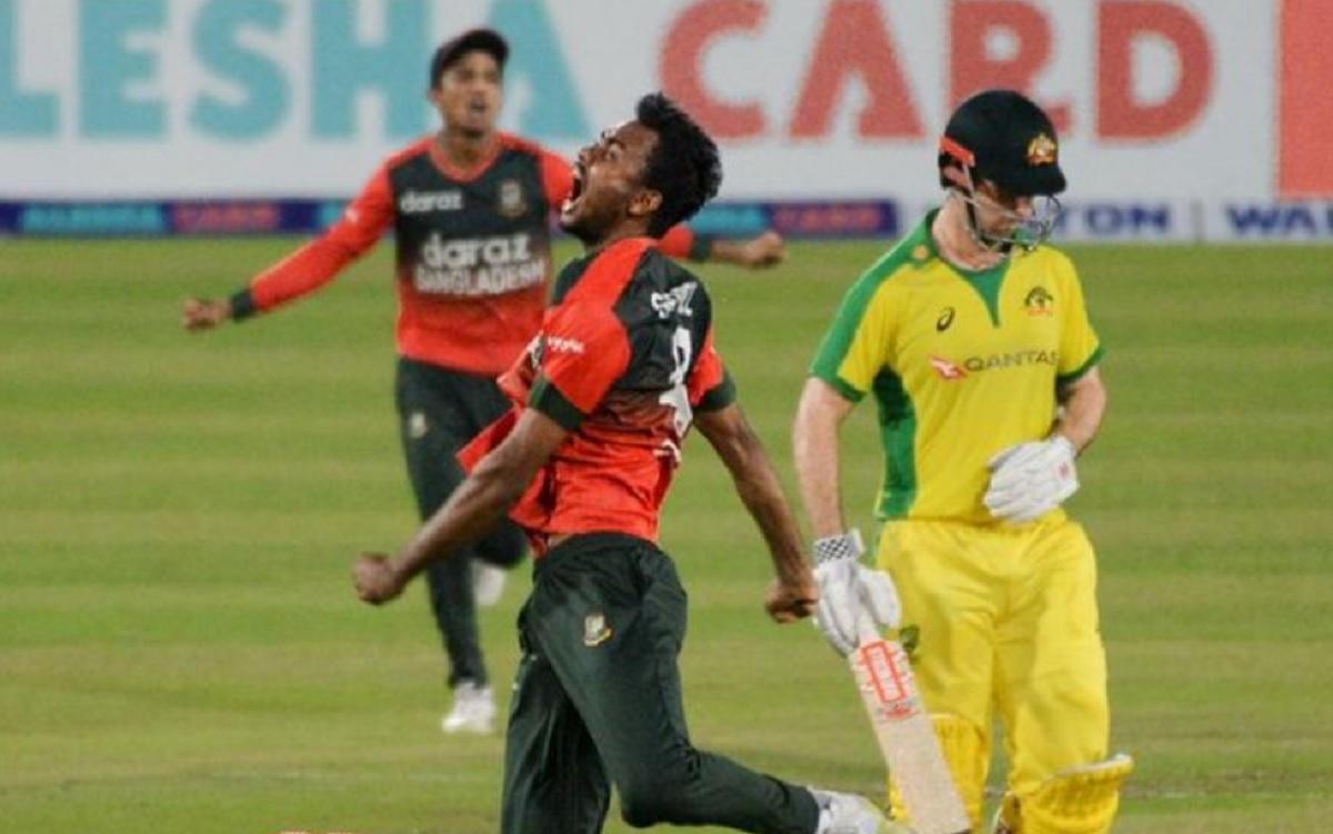 Cricket Image for बांग्लादेश के गेंदबाज शोरीफुल इस्लाम को जोश में होश गंवाना पड़ा भारी, ICC ने लिया