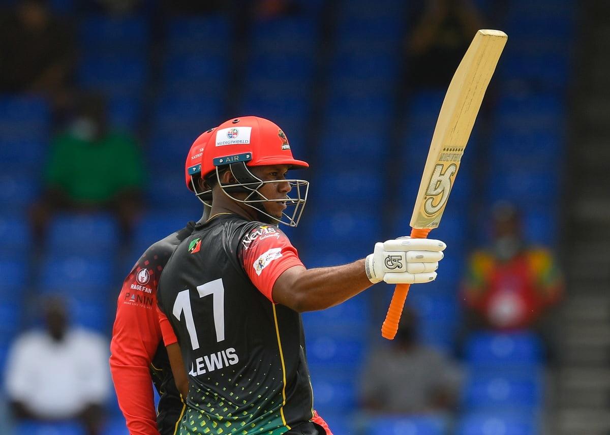 CPL 2021 - St Kitts and Nevis Patriots beat Guyana Amazon Warriors by 8 wkts