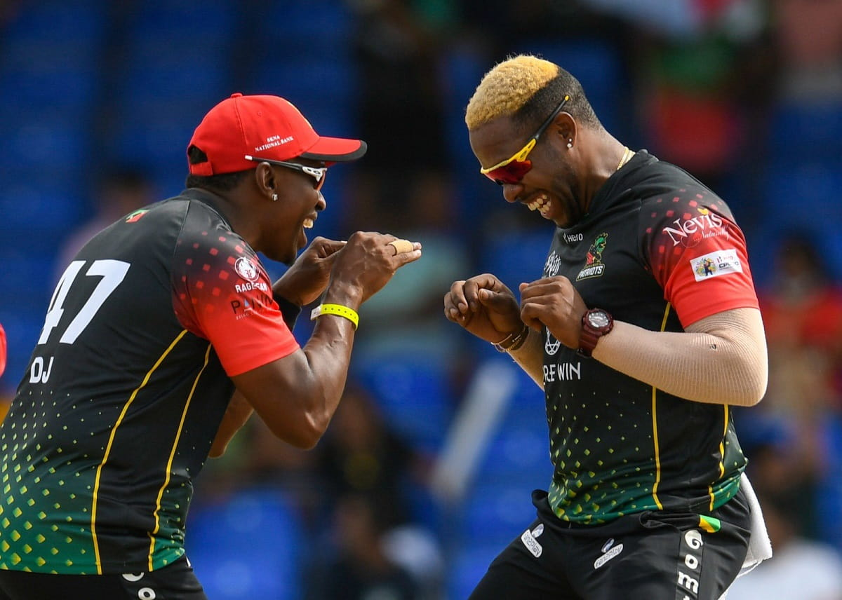 CPL 2021 St Kitts and Nevis Patriots beat Guyana Warriors by 6 wkts