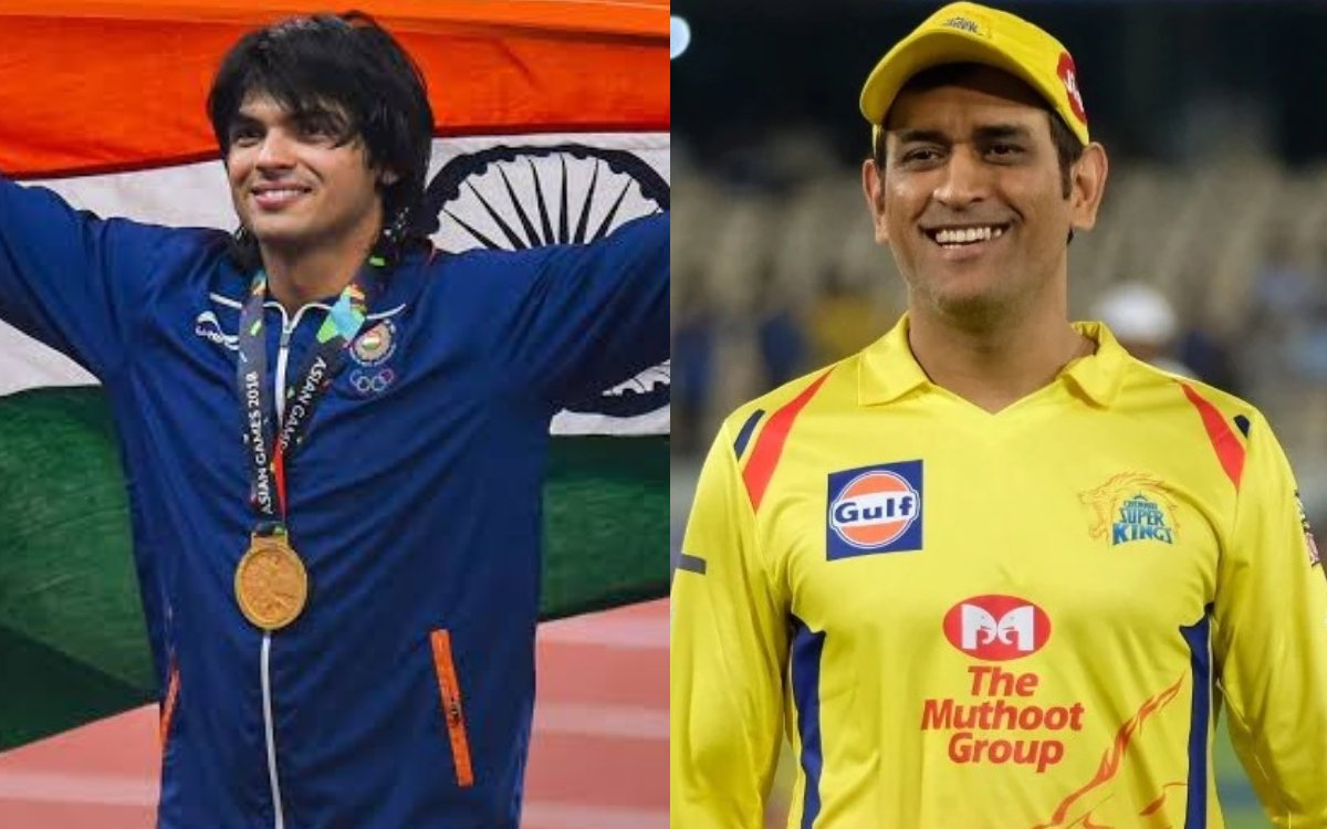 Cricket Image for CSK ने की नीरज चोपड़ा के लिए की इतने करोड़ रुपये के पुरस्कार की घोषणा,सम्मान में ब