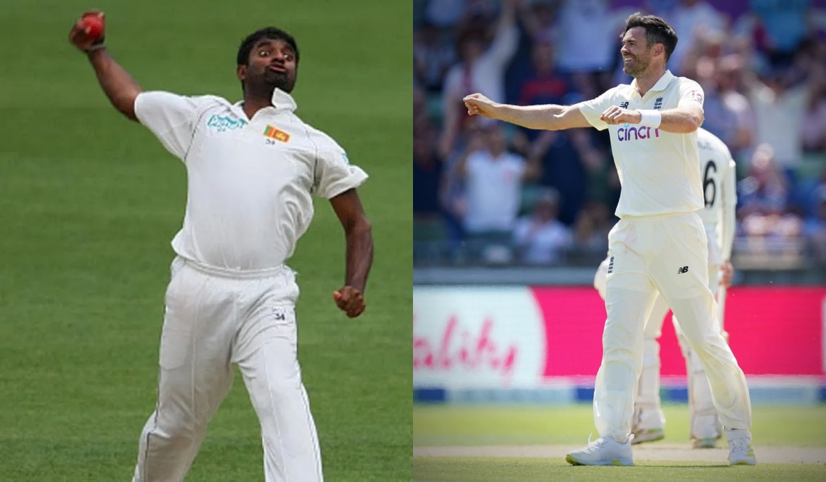 ENG vs IND - James Anderson overtakes murlitharan for most 3-wicket haul against India in test