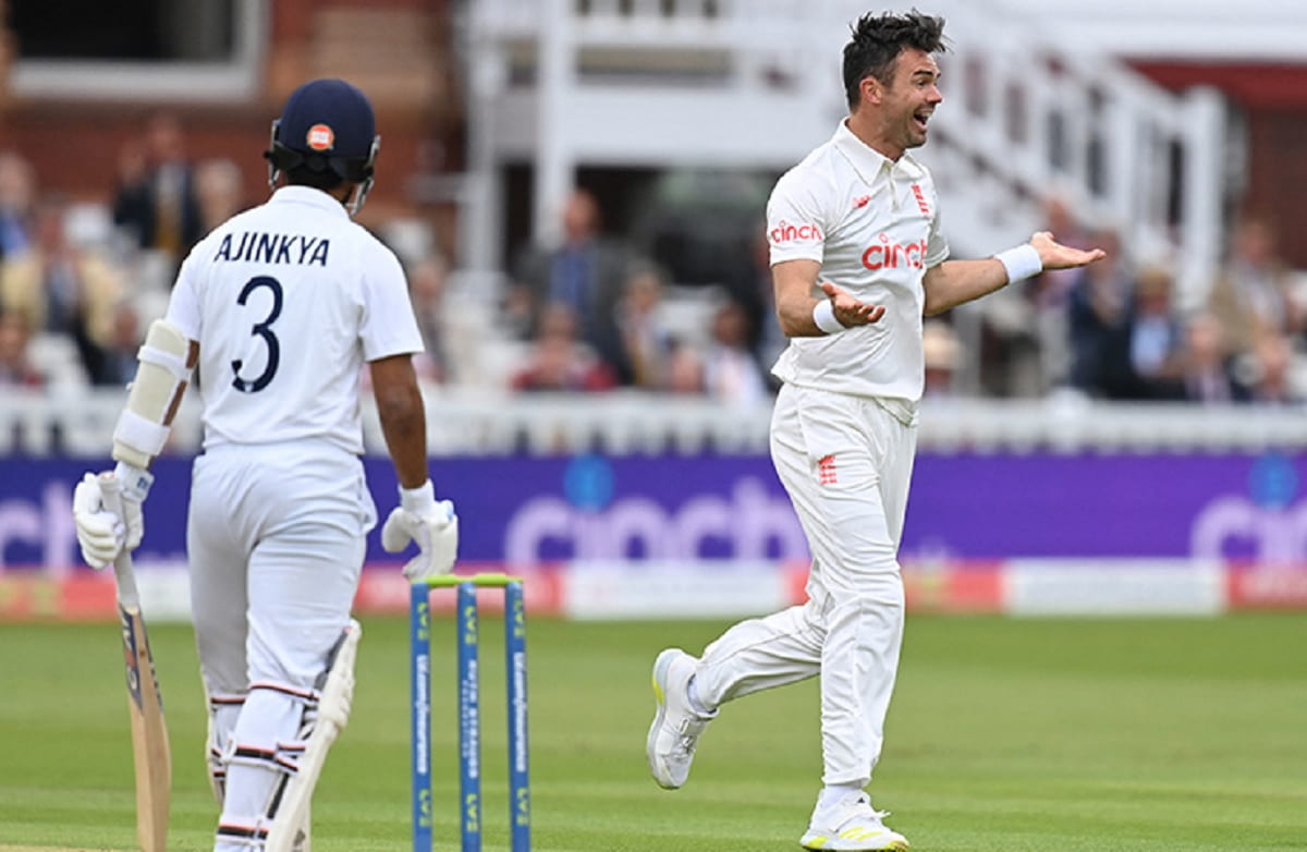 ENG vs IND - James Anderson take 5 wicket haul in 2nd test against India