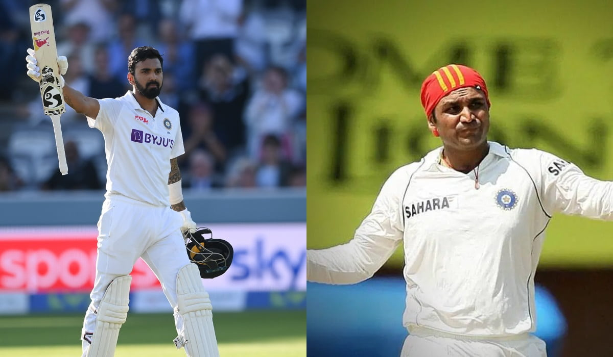 ENG vs IND - KL Rahul joins Virender Sehwag in special list with sixth Test hundred