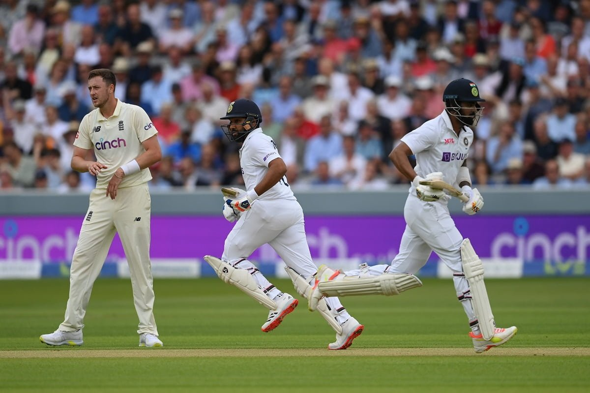 ENG vs IND- KL Rahul and Rohit Sharma share a century opening stand in the first innings of a Test i