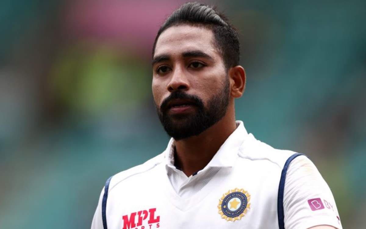 Cricket Image for Eng Vs Ind Test Series Mohammed Siraj Gearing Up For The England Challenge