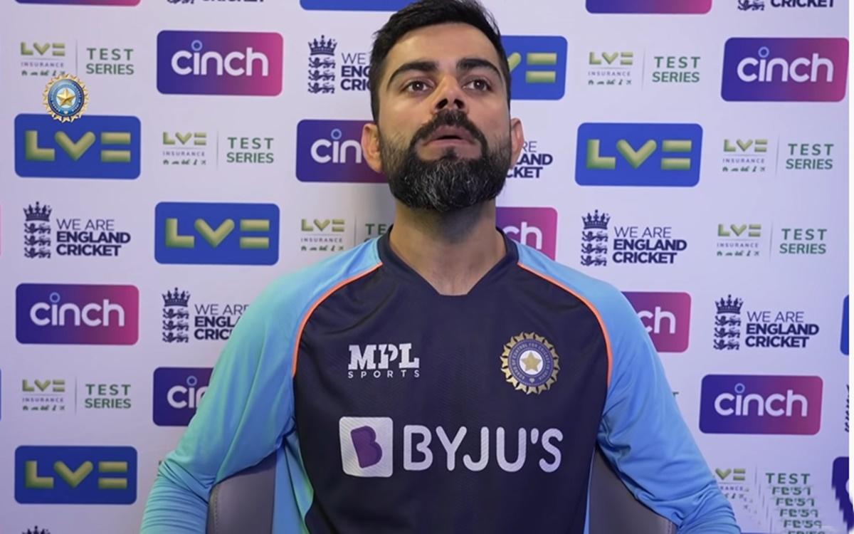 Cricket Image for England V India Virat Kohli Press Conference Watch Video