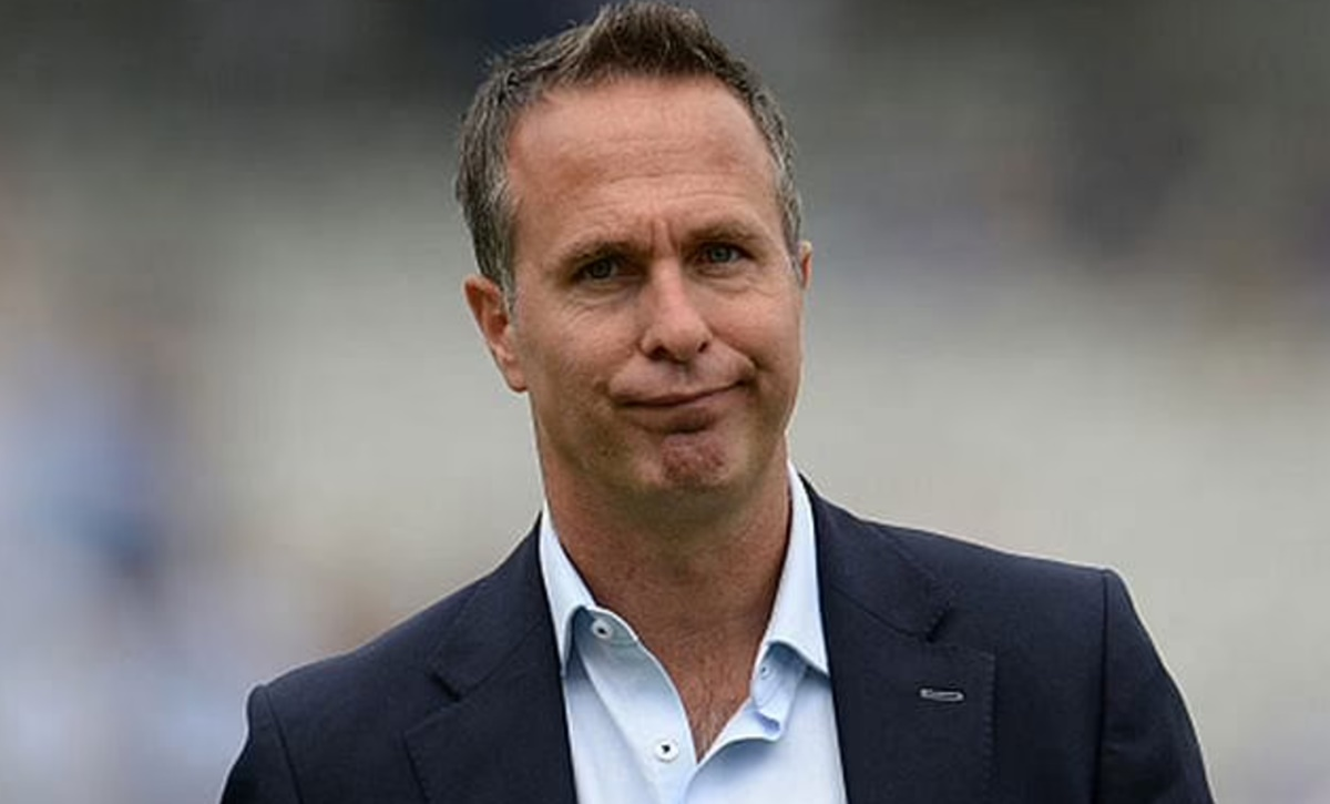 Cricket Image for England Vs India Test Series Michael Vaughan Posts Morphed Image