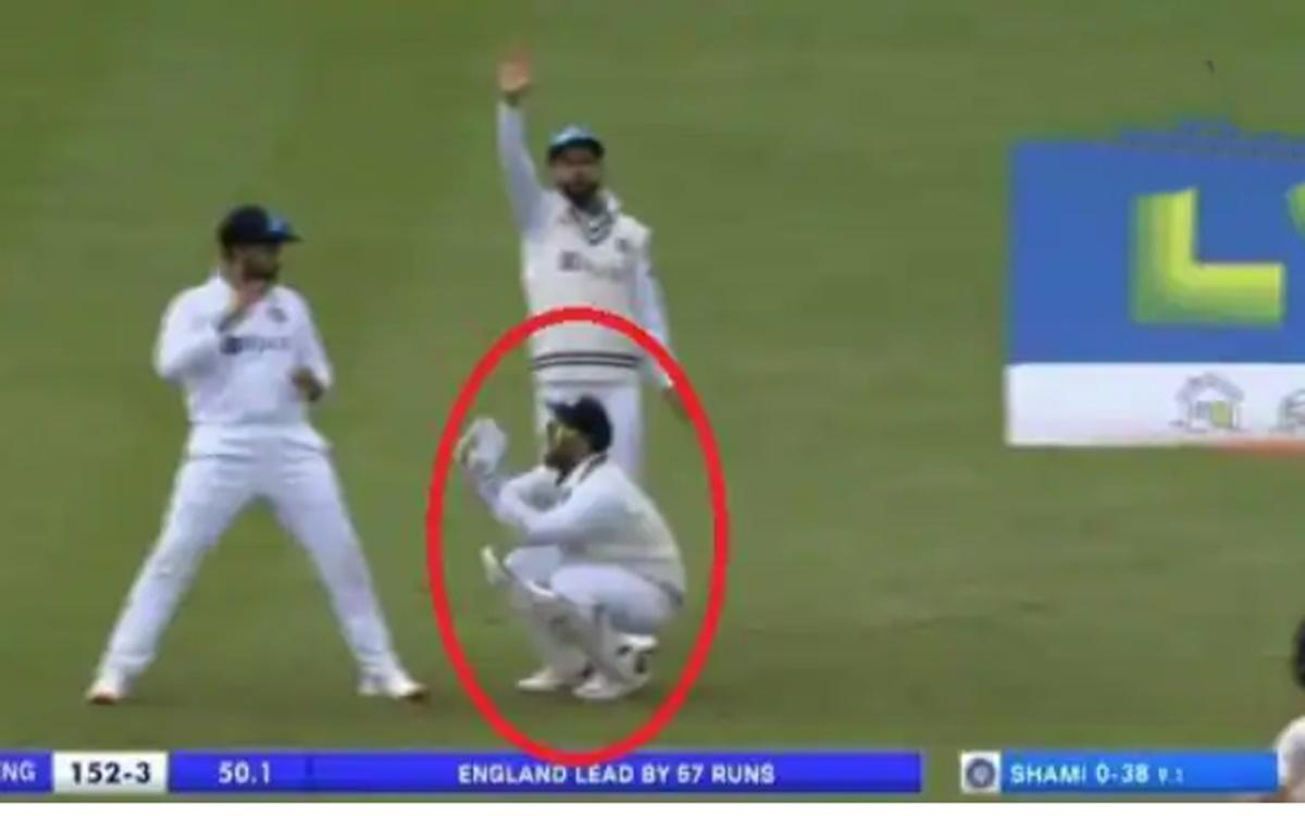 Cricket Image for VIDEO: ऋषभ पंत को 'मेंढक' की तरह उछलता देख, हैरान हुए रोहित और विराट कोहली