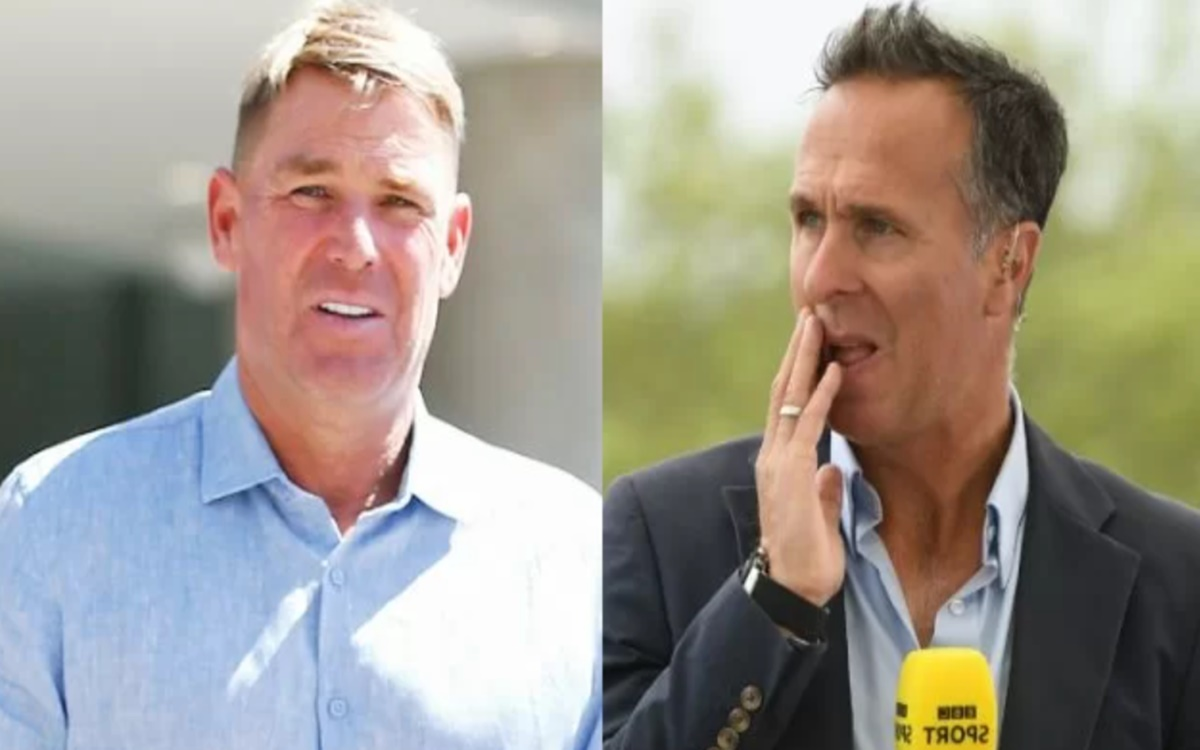 Cricket Image for Ind Vs Eng Shane Warne Reacts To Michael Vaughan Tweet