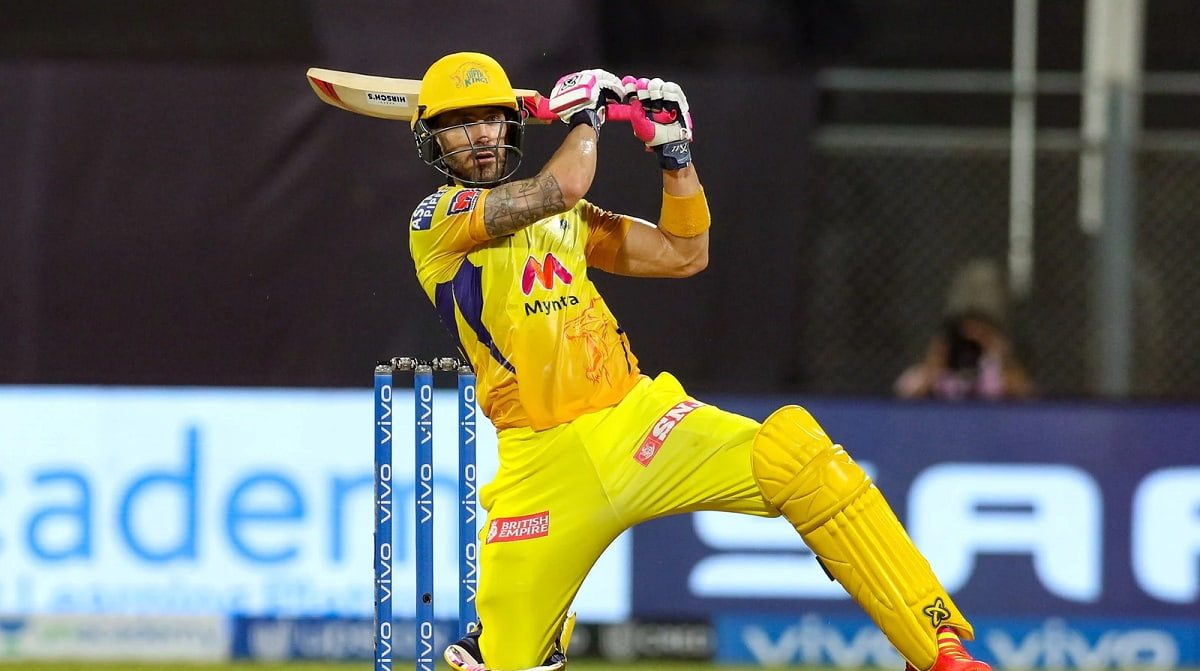 IPL 2021 - Faf du Plessis on his return after a concussion forced break