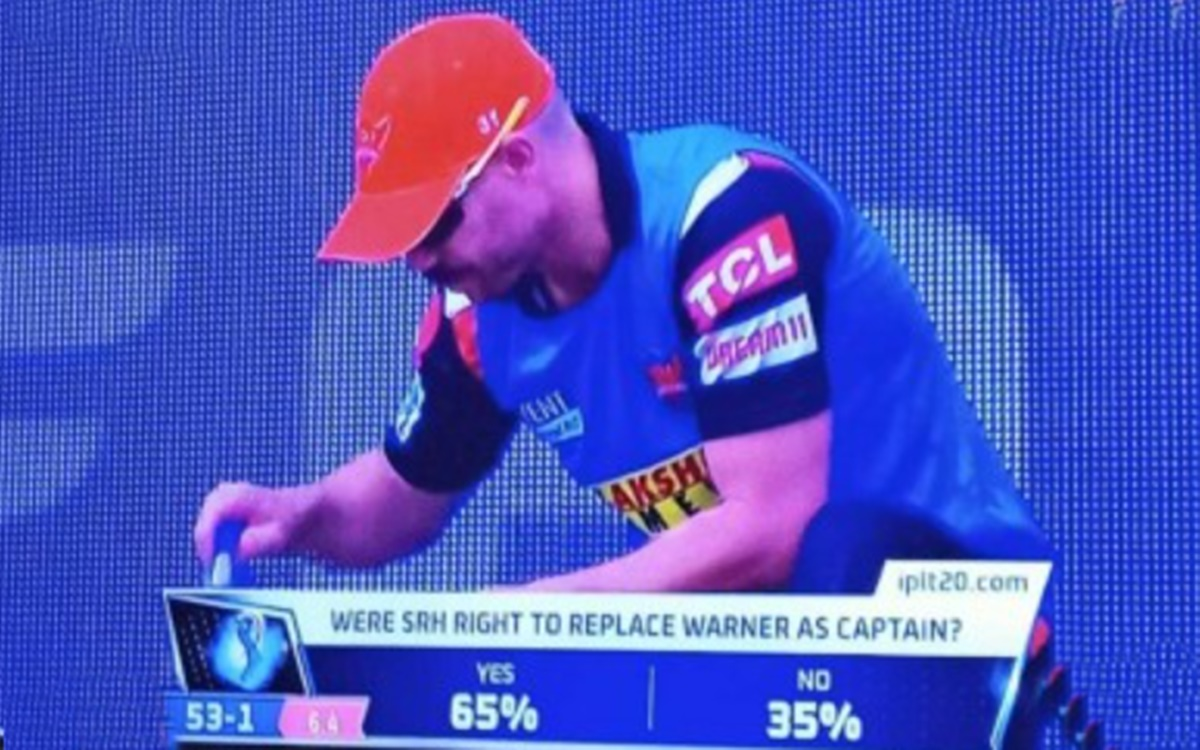 Cricket Image for Ipl 2021 David Warner Responds To A Fan Question