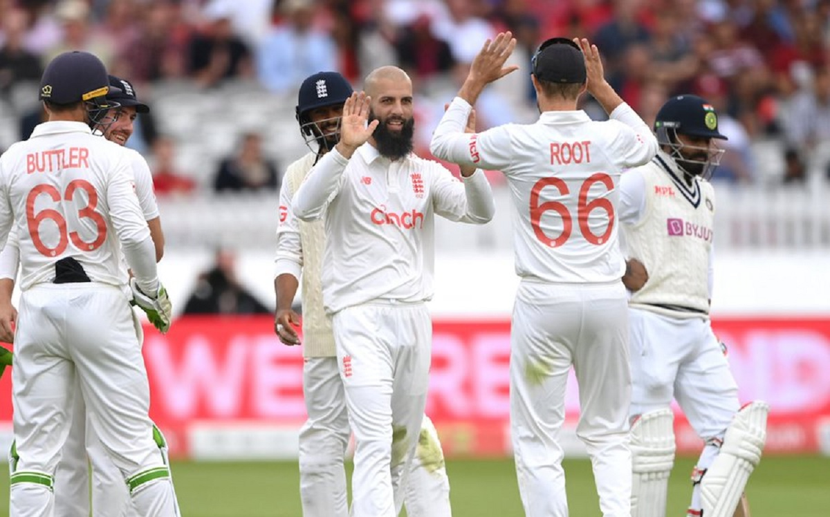 India 346-7 at lunch on day 2 of lords test