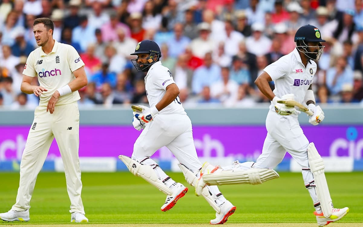 Team India 46/0 at lunch on day 1 of second test