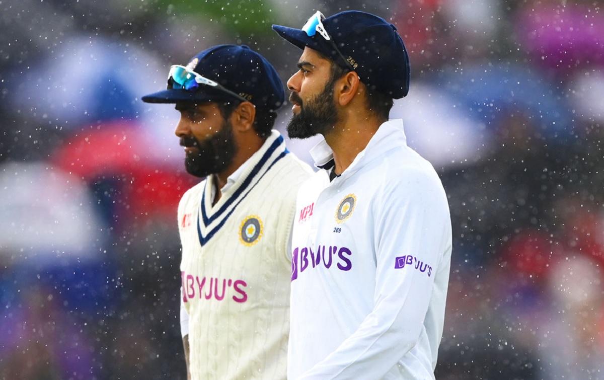 Cricket Image for पहला टेस्ट: टीम इंडिया 70 रन आगे, बारिश के कारण जल्दी खत्म हुआ तीसरे दिन का खेल