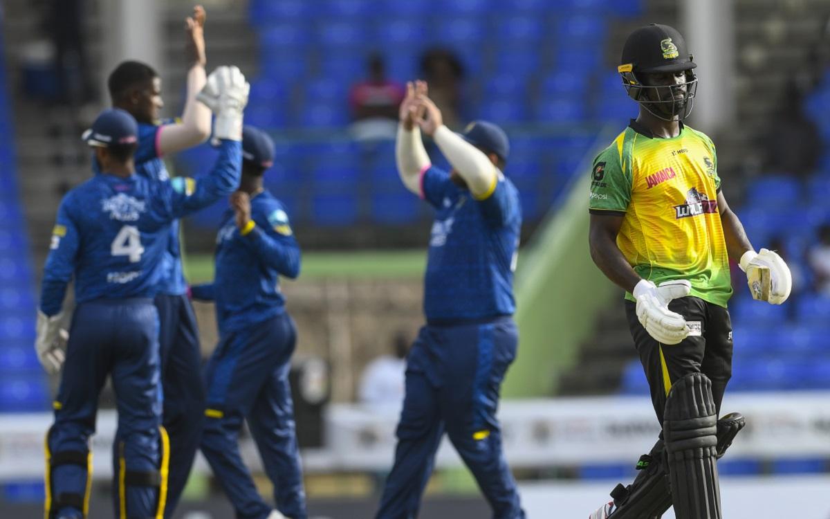 Jamaica Tallawahs Vs Barbados Royals, 6th Match Images