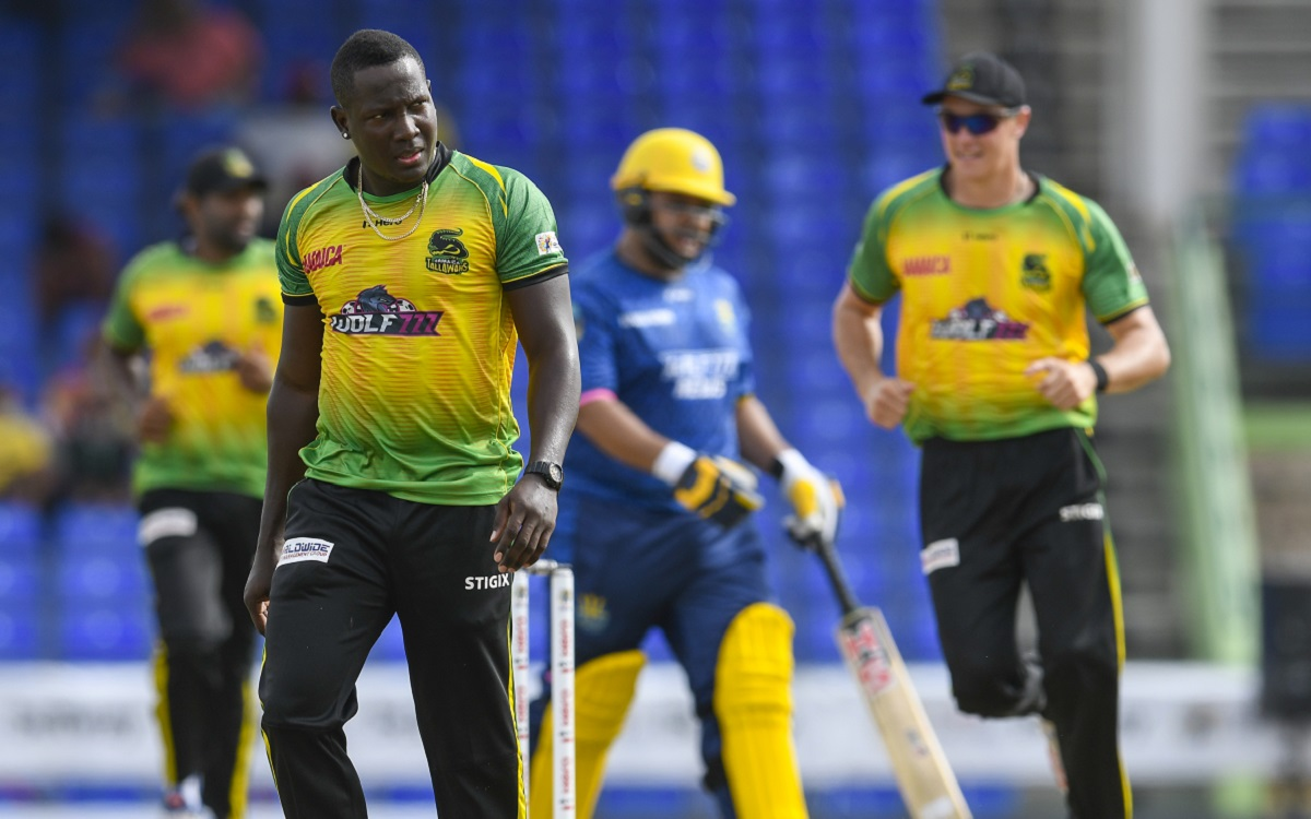Jamaica Tallawahs Vs Barbados Royals In CPL 2021 Images