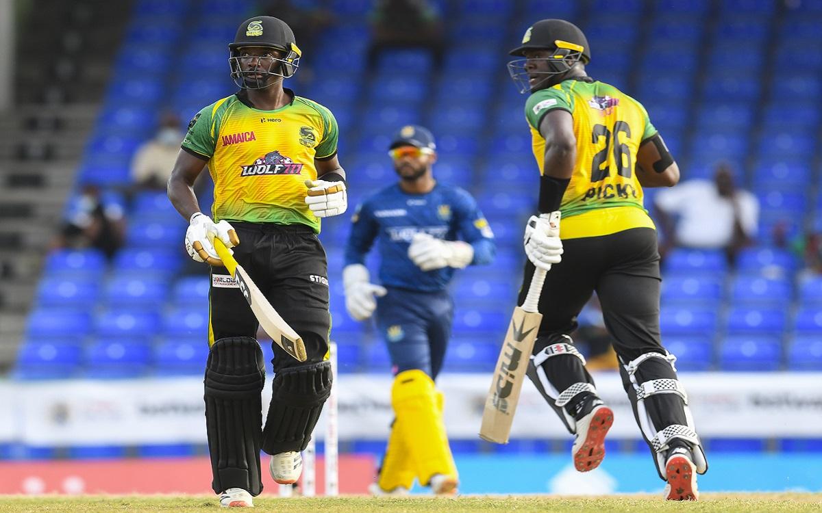 Jamaica Tallawahs Vs Barbados Royals Images