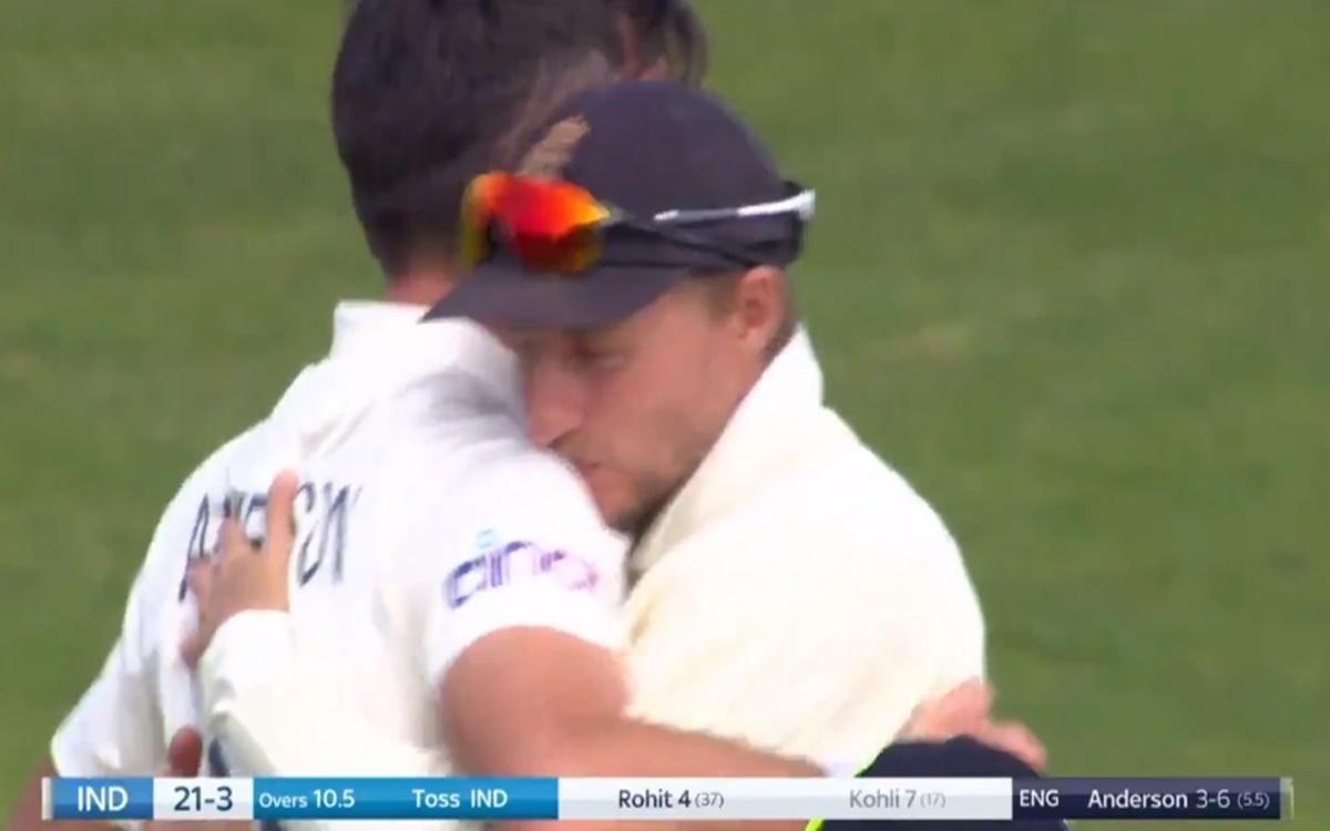 Cricket Image for James Anderson Dismiss Indian Captain Virat Kohli Watch Video