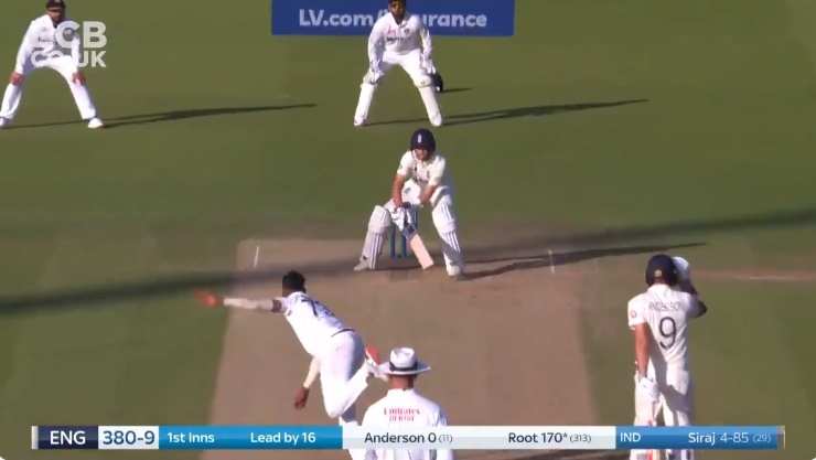 Cricket Image for Joe Root Hits Reverse Sweep On Mohammed Siraj Watch Video