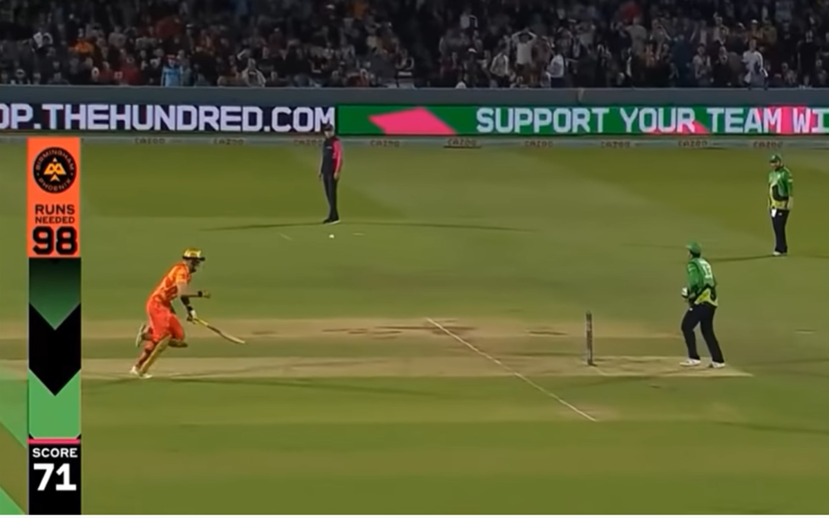 Cricket Image for Liam Livingstone Got Run Out In A Bizarre Manner