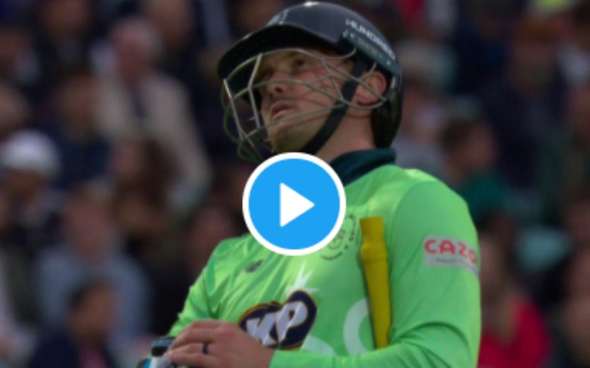 Cricket Image for THE HUNDRED : 'इसे कहते हैं धमाकेदार आगाज़', टूर्नामेंट की पहली गेंद पर लिया जेसन