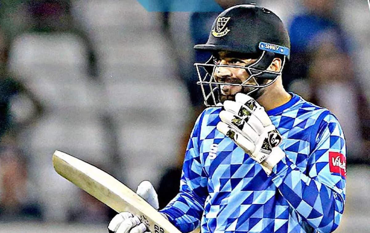 Cricket Image for 6,6,4,4,4 राशिद खान ने 300 के स्ट्राइक रेट से की तूफानी बल्लेबाजी, हेलीकॉप्टर शॉट