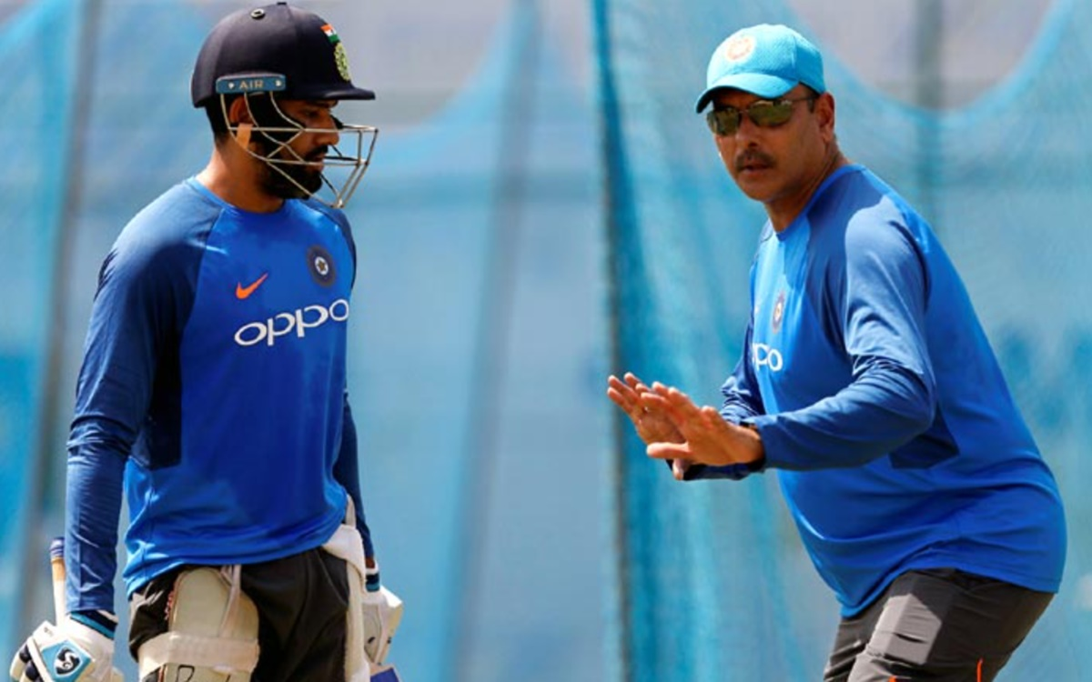 Cricket Image for Indias Head Coach Ravi Shastri Promised To Make Rohit Sharma A Successful Test Bat