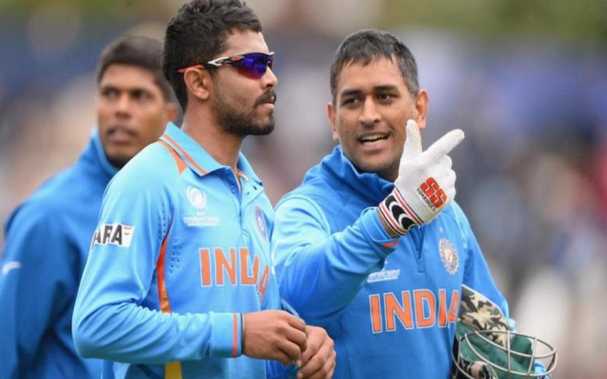 Cricket Image for Ravindra Jadeja recalls former indian captain ms Dhoni advice